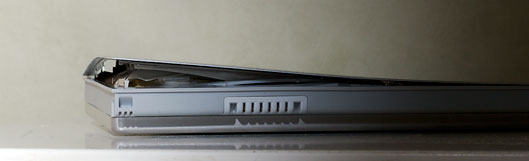 Bulged macbook pro battery